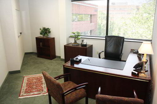 Temporary Plymouth Meeting Office - Meeting Room