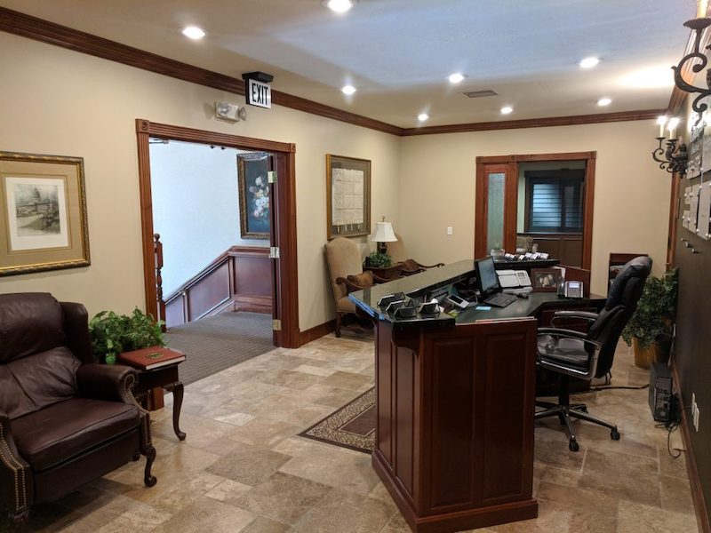 Receptionist Lobby - Virtual Offices in Provo