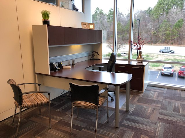 Temporary Raleigh Office - Meeting Room