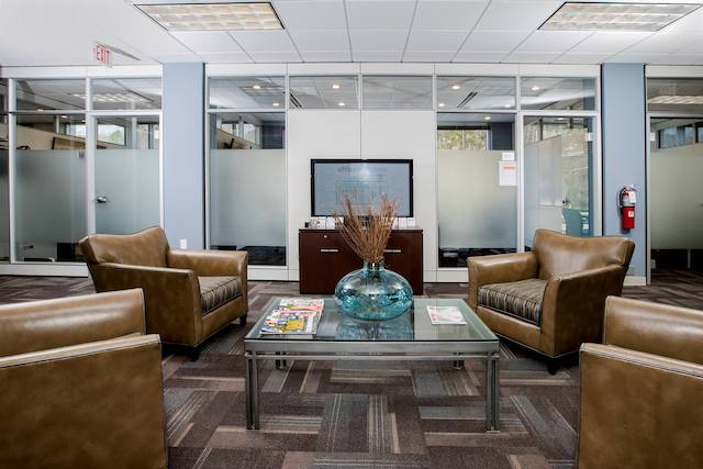 Receptionist and Mail Area - Raleigh Virtual Office
