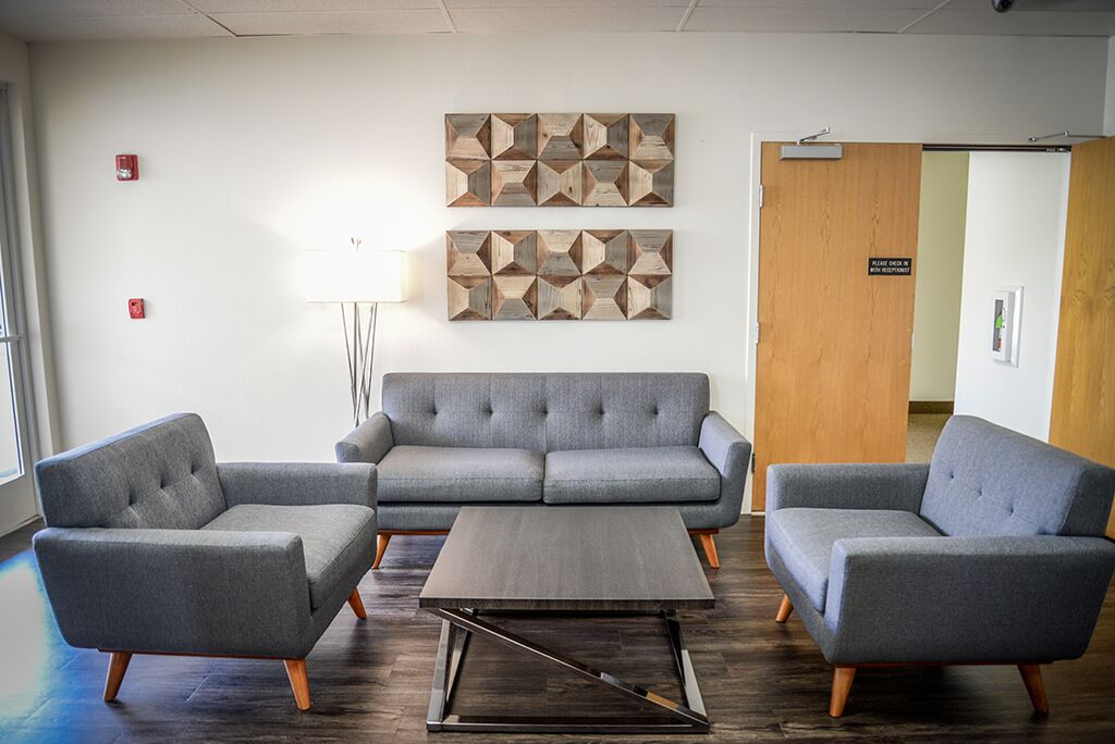 Rancho Cucamonga Busines Address - Lounge Area