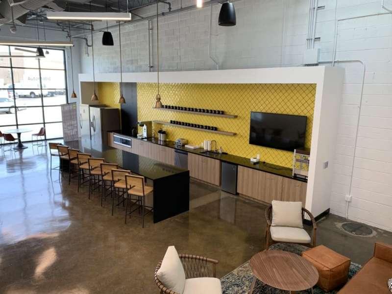 Break Area in Richmond Virtual Office