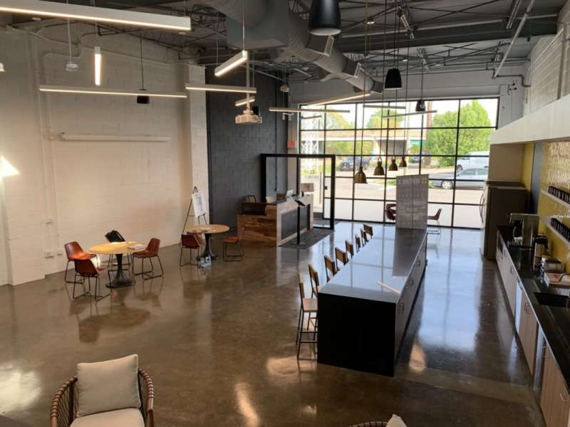 Richmond Virtual Office Space - Comfortable Commons Area