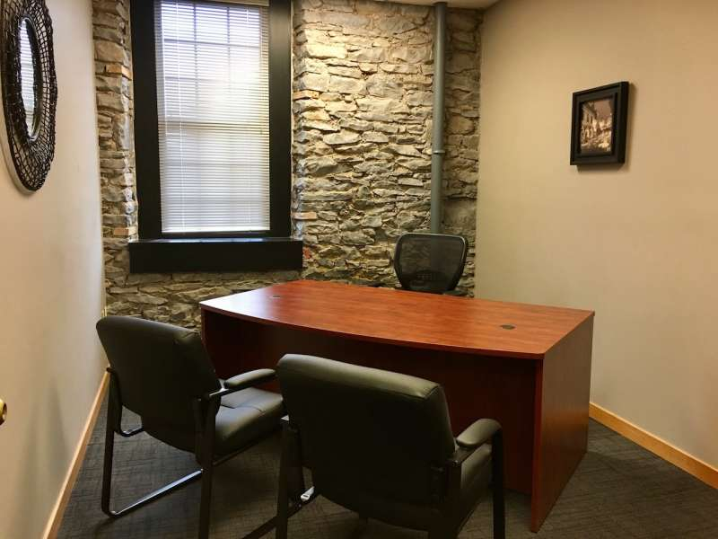 Temporary Rochester Office - Meeting Room