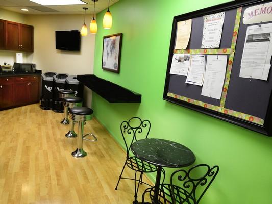 Break Area in Rockville Virtual Office Space