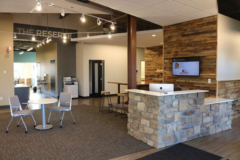 Roseville Virtual Office Address - Lounge Commons Area