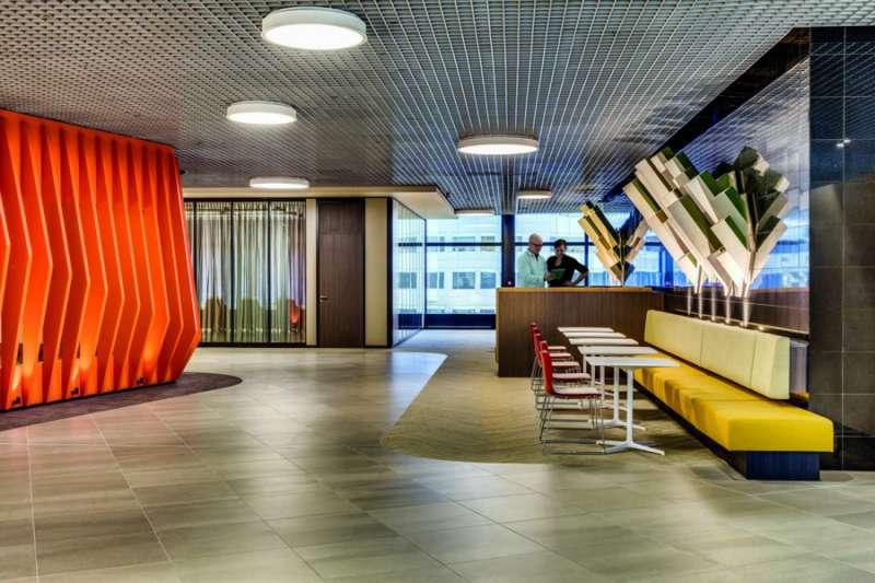 Break Area in Rotterdam Virtual Office Space