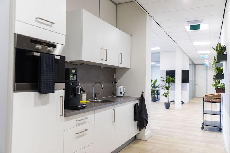 Break Area in Rotterdam Virtual Office