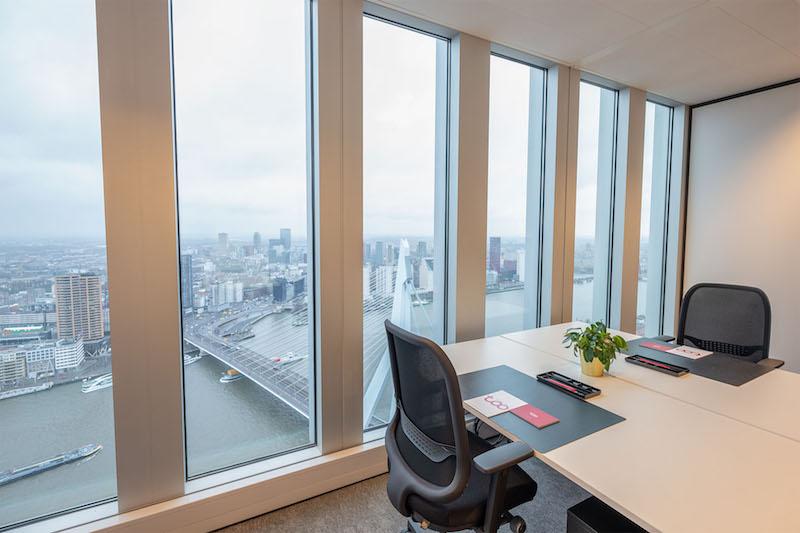 Temporary Rotterdam Office - Meeting Room