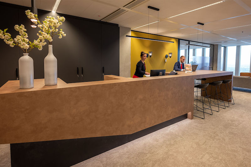 Receptionist Lobby - Virtual Offices in Rotterdam