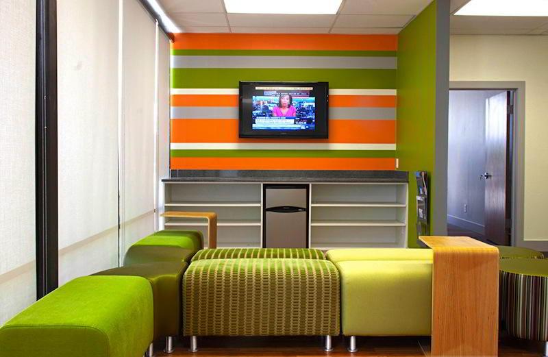 San Antonio Virtual Office Address - Lounge Commons Area