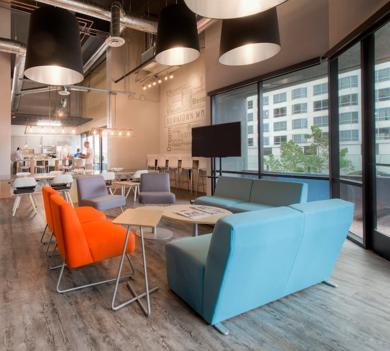 San Diego Virtual Office Space - Comfortable Commons Area