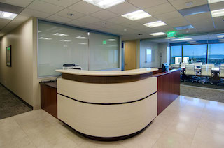 Receptionist Lobby - Virtual Offices in San Francisco