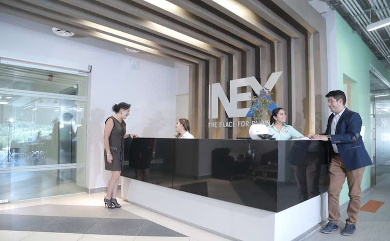 San Luis Potosí Live Receptionist and Business Address Lobby