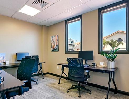 Santa Barbara Busines Address - Lounge Area