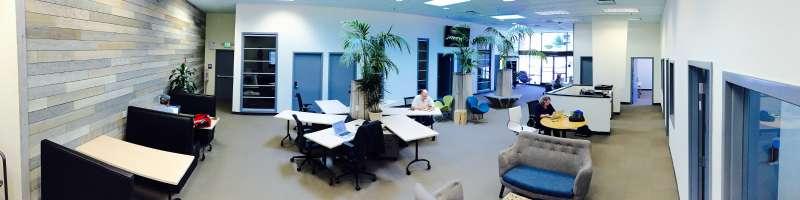 Santa Cruz Virtual Office Space - Comfortable Commons Area