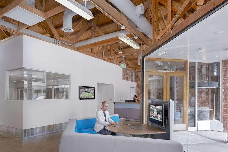 Santa Monica Busines Address - Lounge Area