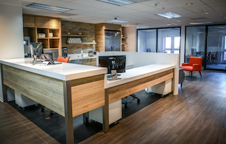Receptionist Lobby - Virtual Offices in Santa Monica