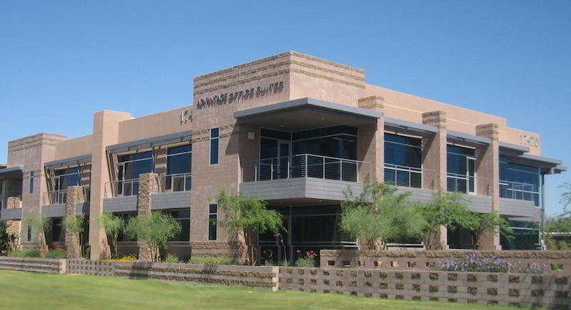 Exterior Facade - Scottsdale Virtual Office Space