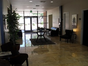 Receptionist and Mail Area - Scottsdale Virtual Office