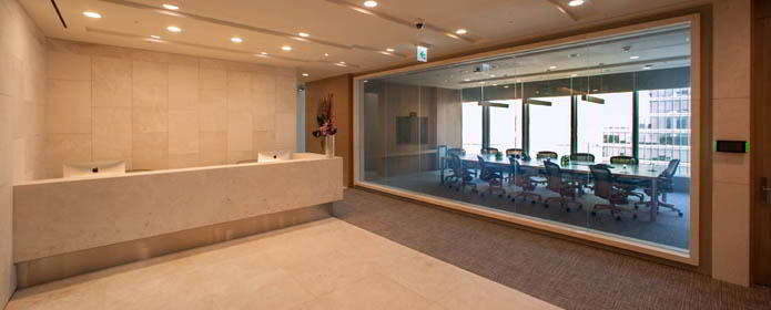 Seoul Live Receptionist and Business Address Lobby
