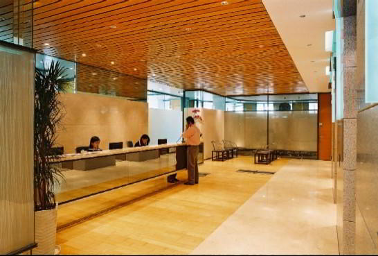 Receptionist Welcoming Area - Shanghai Virtual Office