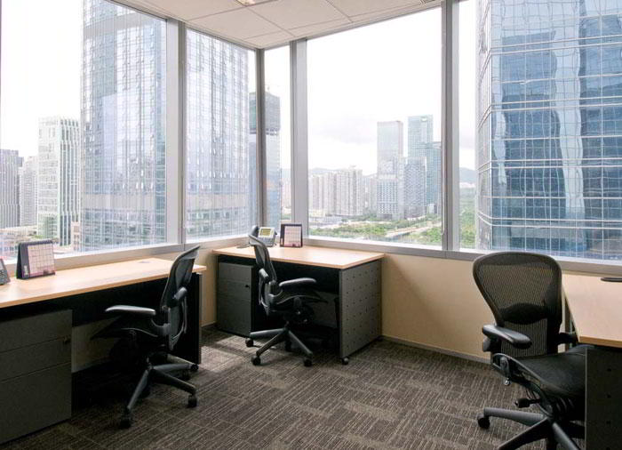 Shenzhen Virtual Office Space - Comfortable Commons Area