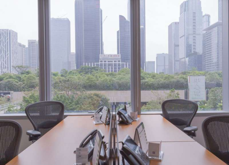 Shenzhen Virtual Office Address - Lounge Commons Area