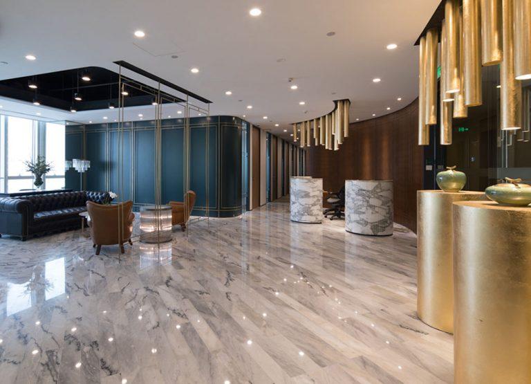 Receptionist Lobby - Virtual Offices in Shenzhen