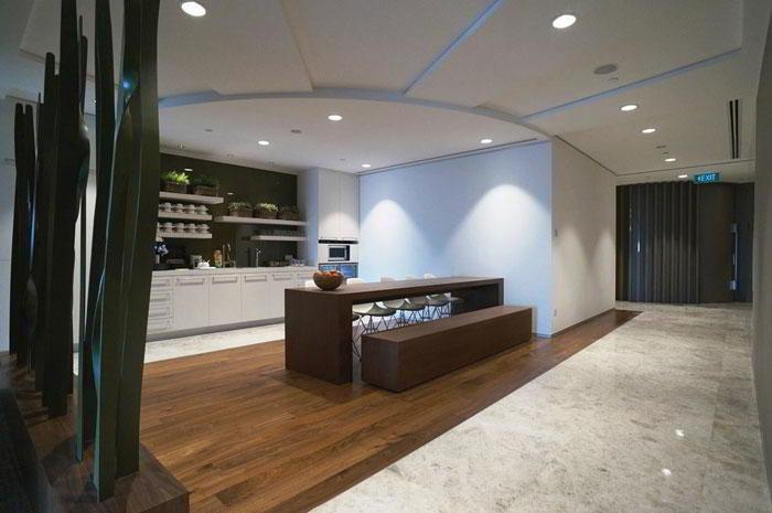 Break Area in Singapore Virtual Office