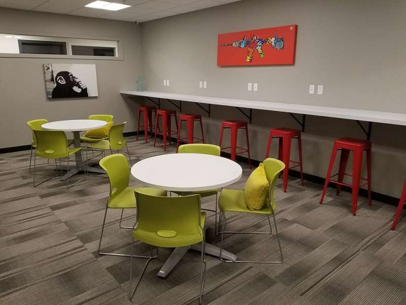 Spokane Busines Address - Lounge Area