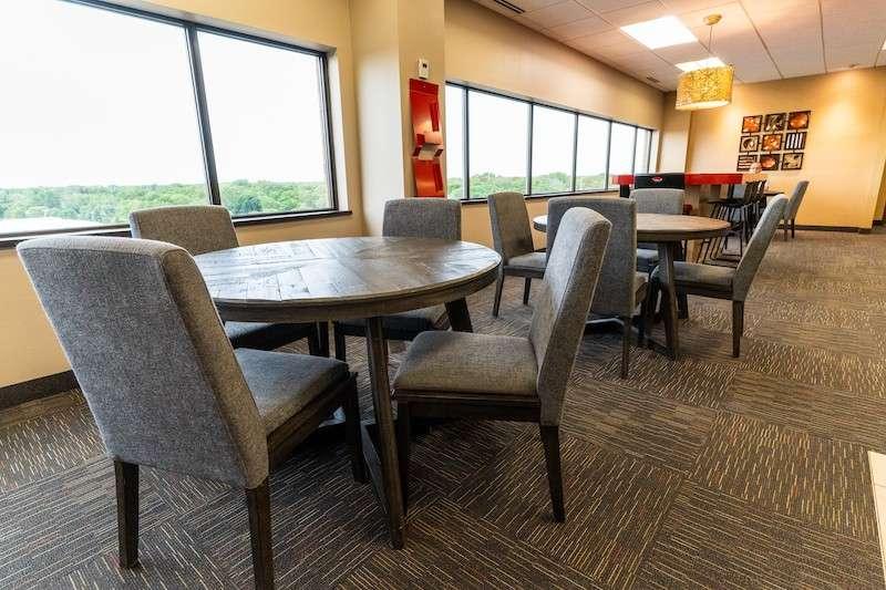 St. Louis Park Busines Address - Lounge Area
