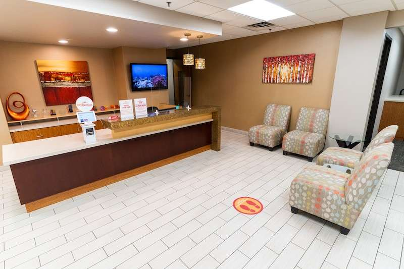 Receptionist and Mail Area - St. Louis Park Virtual Office