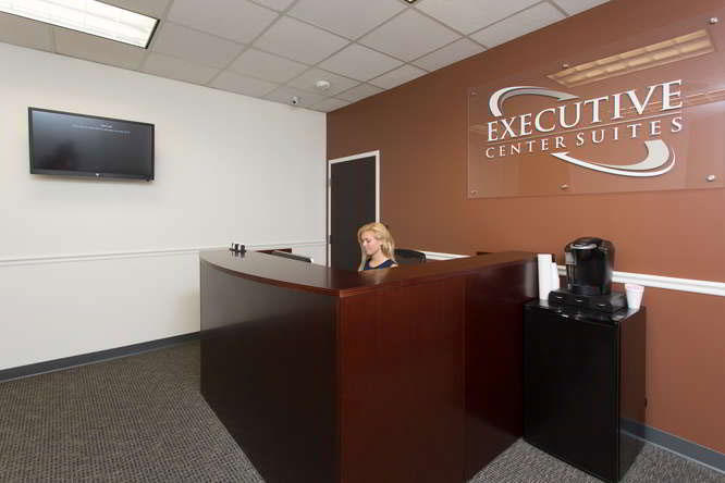Receptionist Lobby - Virtual Offices in St. Petersburg