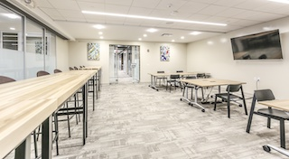 Stamford Virtual Office Space - Comfortable Commons Area
