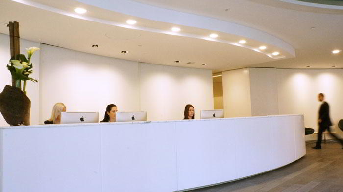 Receptionist Lobby - Virtual Offices in Sydney