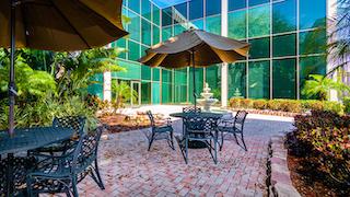 Tampa Busines Address - Lounge Area