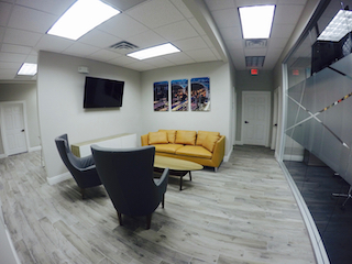 The Woodlands Virtual Office Address - Lounge Commons Area