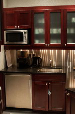 Break Room - Kitchen Area - Toronto Executive Suite