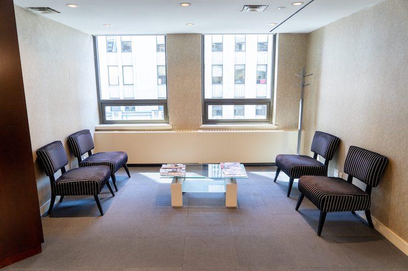 Toronto Busines Address - Lounge Area
