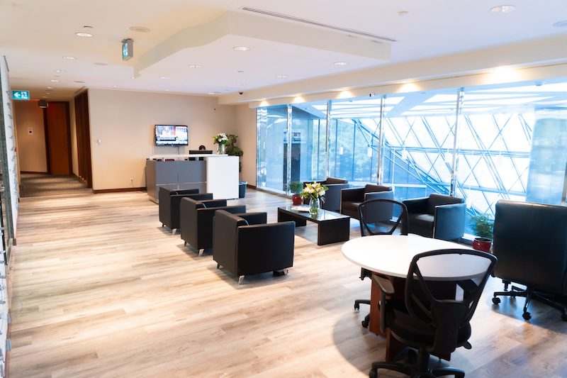 Receptionist Lobby - Virtual Offices in Toronto