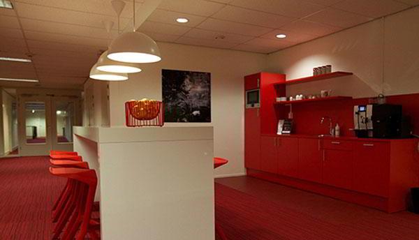 Break Area in Utrecht Virtual Office Space