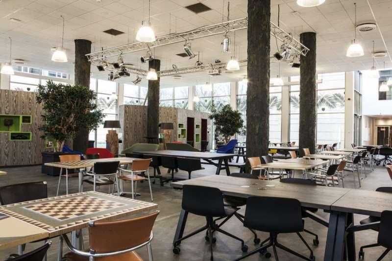 Break Area in Utrecht Virtual Office