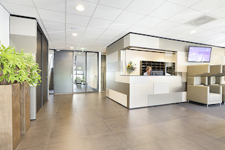 Utrecht Live Receptionist and Business Address Lobby