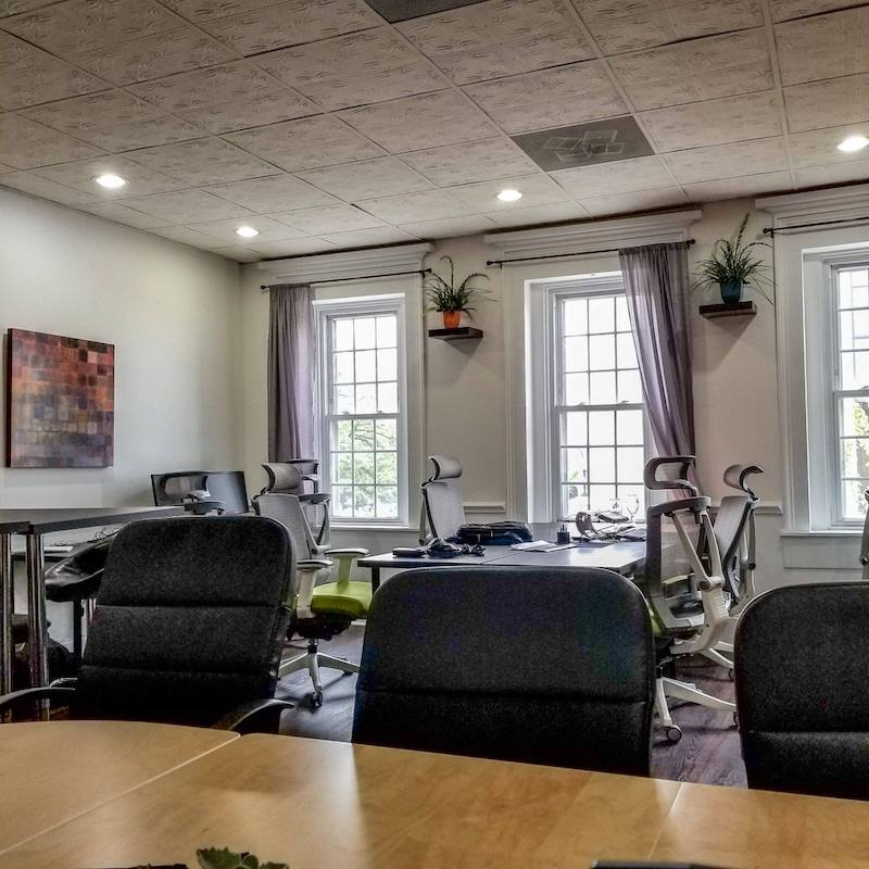 Temporary Valparaiso Office - Meeting Room
