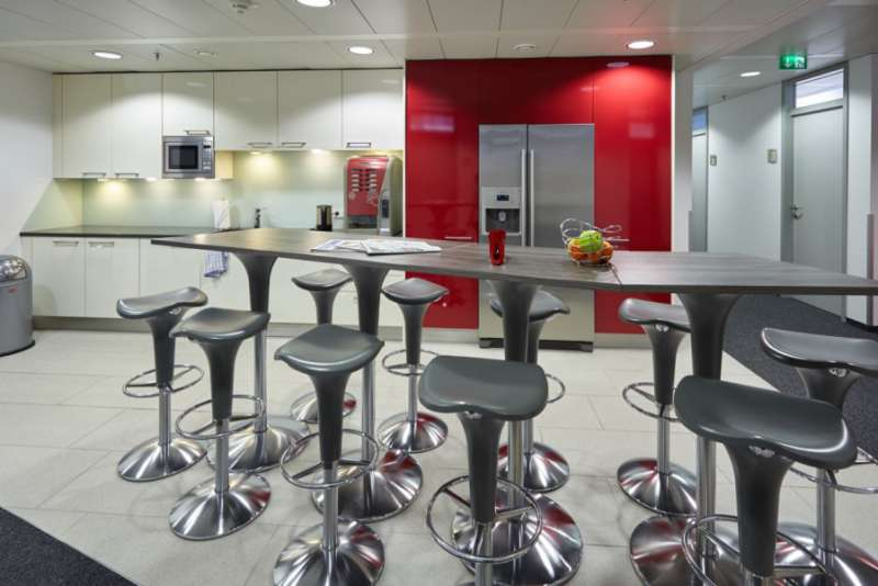 Break Area in Vienna Virtual Office