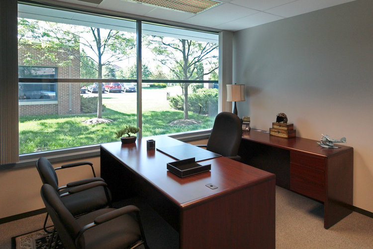 Temporary Warrenville Office - Meeting Room