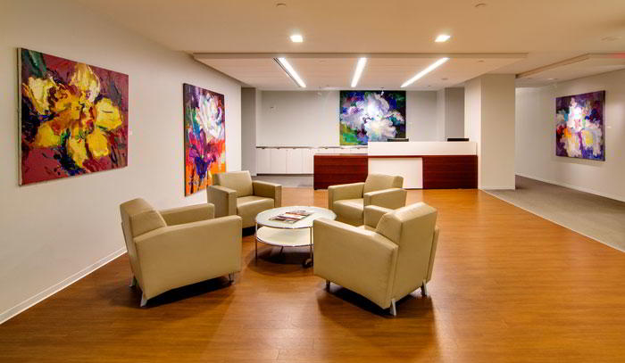Stylish Entrance Lobby - Virtual Office in Washington