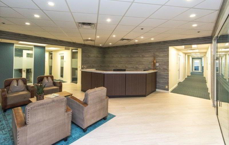 Receptionist and Mail Area - West Palm Beach Virtual Office