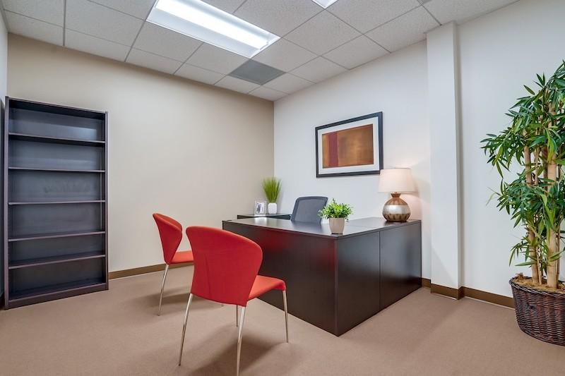 Temporary Westlake Village Office - Meeting Room